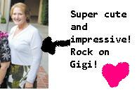 Gigi Andrews, beautiful!